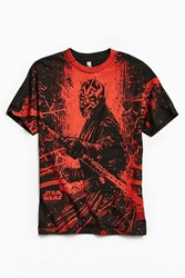Urban Outfitters Darth Maul Tee Red