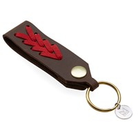 Maple Jobber Key Ring Brown