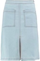 Splendid Denim Skirt Light Denim