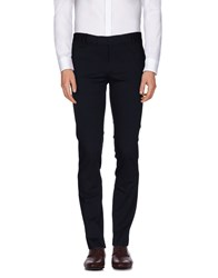 Hotel Trousers Casual Trousers Men Dark Blue