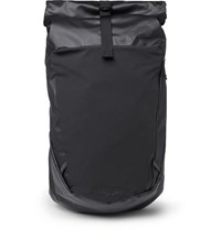 The North Face Peckham Canvas And Mesh Backback Black