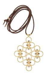 Lfrank The Clover Cluster Pendant Gold