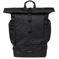 Sandqvist Verner Ballistic Roll Top Backpack Black