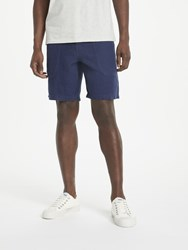 John Lewis And Co. Linen Shorts Navy