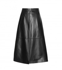 Each X Other Leather Skirt Black