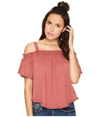 Free People Darling Top Bright Red Women's Clothing