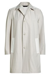 Calvin Klein Collection Coat With Wool Mauve