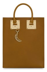 Sophie Hulme 'Albion' Tote Brown Summer Tan