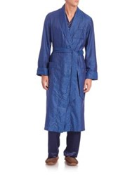 Derek Rose Paris Printed Cotton Robe
