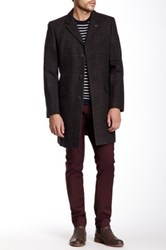 Vince Camuto Long Wool Coat Brown