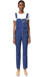 Stella Mccartney Denim Jumpsuit True Blue