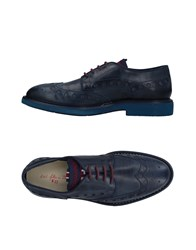 D'acquasparta Lace Up Shoes Dark Blue