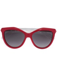 Givenchy Gv7009 Cat Eye Sunglasses Red