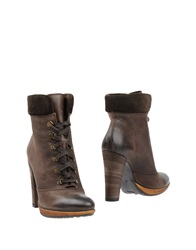 Francesco Morichetti Ankle Boots Dark Brown