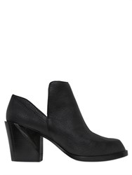 Dkny 70Mm Pan Tumbled Leather Ankle Boots