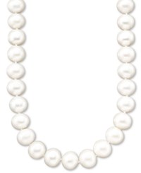 Belle De Mer Pearl A Cultured Freshwater Pearl Strand Necklace 11 13Mm