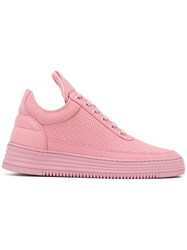 Filling Pieces Perforated Sneakers Pink Purple