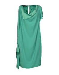 Laurel 3 4 Length Dresses Emerald Green