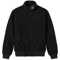 Baracuta X Engineered Garments G9 Teddy Jacket Black