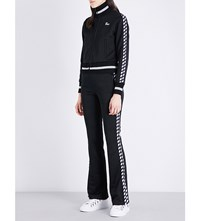 Off White C O Virgil Abloh Woman Cotton Towelling Tracksuit Black White