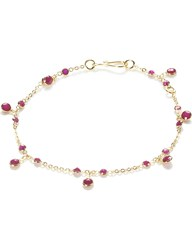 Annoushka Nectar Cherry Droplet 18Ct Yellow Gold And Ruby Bracelet