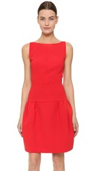 N 21 Pleated Tank Dress Red