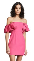 Fame And Partners The Halie Dress Hot Pink