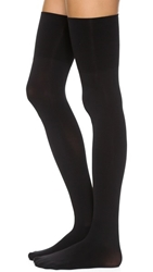 Commando 70D Ultimate Opaque Over The Knee Tights Black