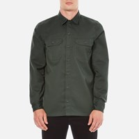 Carhartt Men's Long Sleeve Master Shirt Laurel Rinsed