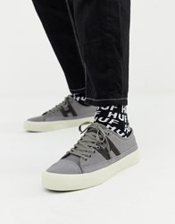Huf Hupper 2 Lo Trainers In Grey