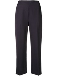 3.1 Phillip Lim Classic Cropped Trousers Blue