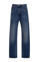 Seafarer Dylan Mid Rise Straight Jeans Dark Wash