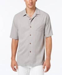 Tommy Bahama Men's Tiki Palms Silk Short Sleeve Shirt A Macy's Exclusive Style Vapor