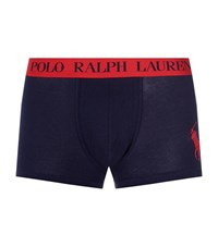 Polo Ralph Lauren Classic Pouch Trunk Male Navy