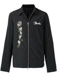 Mhi Maharishi Wise Tigers Jacket Black