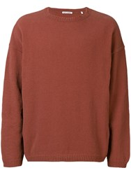 Our Legacy Crew Neck Jumper Pink
