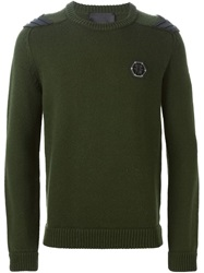 Philipp Plein 'Hey' Sweater Green