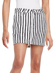 Marc By Marc Jacobs Striped Icon Mini Skirt Yard Stripe