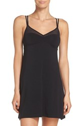 Naked Women's Knit Chemise Black