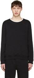 3.1 Phillip Lim Black Roll Edge Pullover