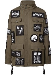 Haculla Patch Military Jacket Green