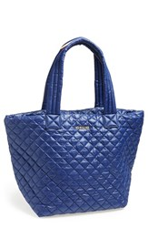M Z Wallace Mz Wallace 'Medium Metro' Quilted Oxford Nylon Tote Blue