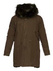 Mr And Mrs Italy Full Length Fur Lined Parka