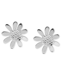 Unwritten Sterling Silver Earrings Sunflower Stud Earrings