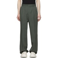 Cmmn Swdn Green Wool Jay Trousers