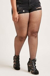 Forever 21 Plus Size Fishnet Tights