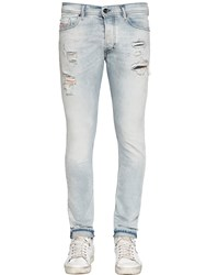 Diesel 16Cm Tepphar Distressed Denim Jeans