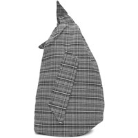 Raf Simons Black And White Eastpak Edition Plaid Sling Backpack
