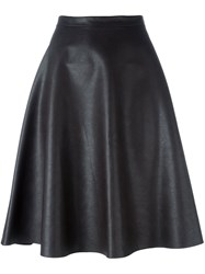 Roberto Collina Flared Skirt Brown