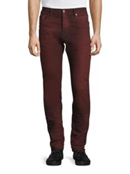 Diesel Tepphar Slim Fit Jeans Red